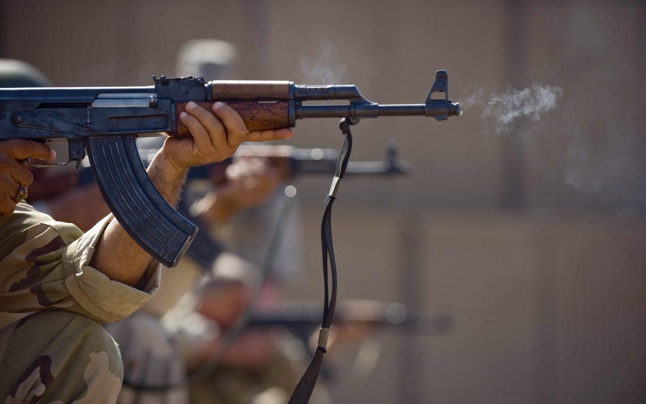 Украинскую комендатуру обстреляли партизаны