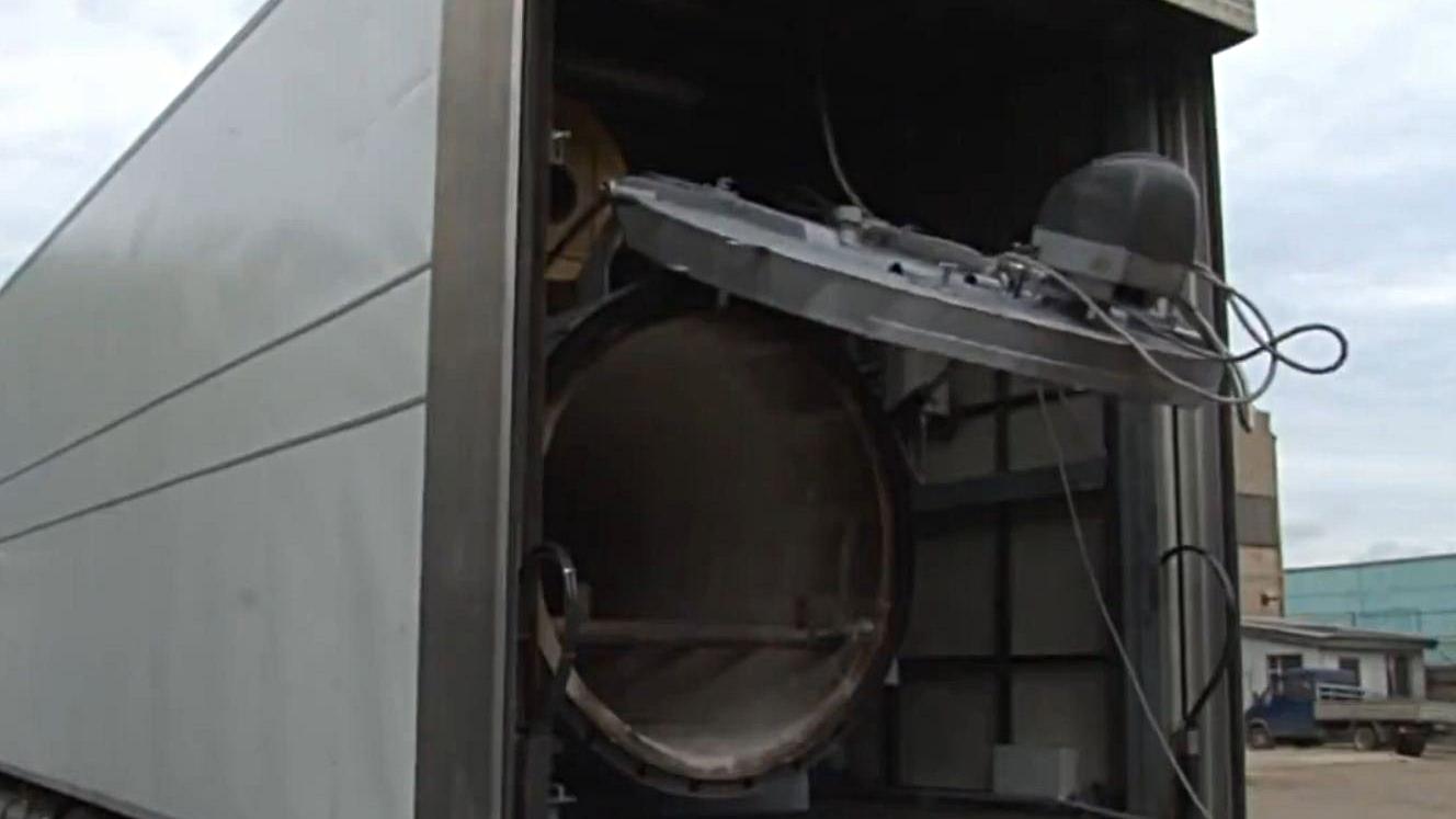 Командование ВСУ снова запустило в работу передвижной крематорий на Донбассе
