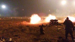 Две попытки прорыва в Донецк