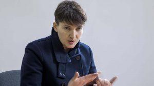 Савченко встретилась с украинскими пленными на территории ДНР