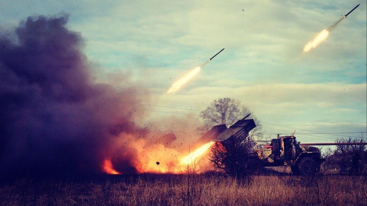 Украинский «Град» ударил по своим
