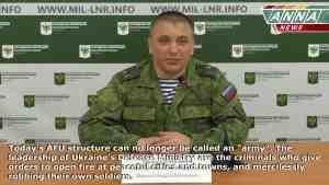 Брифинг официального представителя НМ ЛНР подполковника Марочко на 28.03.2017 + English Subtitles