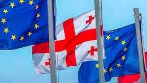 Грузия празднует безвиз с Евросоюзом