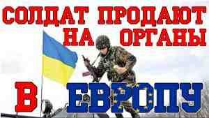 Украина торгует человеческими органами