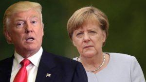 Трамп и Меркель обсудили Украину, КНДР, Сирию и Йемен
