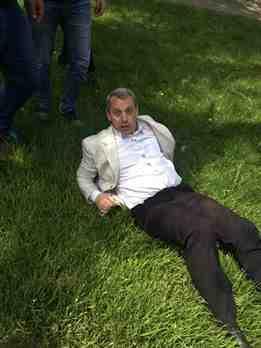 Нацисты избили известного одесского адвоката