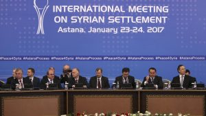 Вооруженная сирийская оппозиция проведет встречу в Турции перед переговорами в Астане