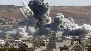 В результате авиаудара сил коалиции в сирийском Эль-Маядин погибло 57 человек