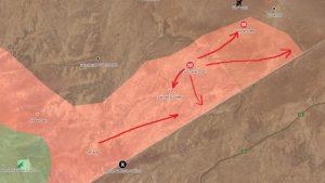 Сирийская армия вступила в провинцию Дейр-эз-Зор