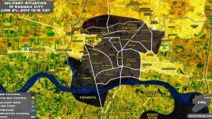Курды усилили окружение Ракки и продвигаются к центральным районам города