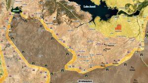 Сирийская армия близка к созданию огромного котла ИГ у Ханасера