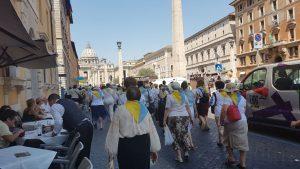 Рим наводнили украинские туристы