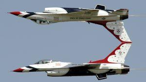 Самолет ВВС США разбился во время подготовки к авиашоу