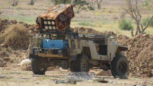 Сирийская Арабская армия возобновила наступление на Джобар