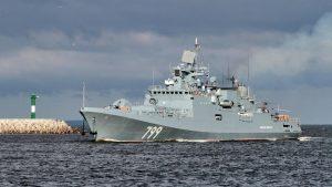 Глава ВМФ РФ назвал сроки передачи флоту четырех новейших фрегатов проекта 22350