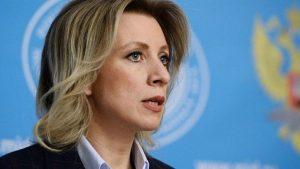 Захарова: Россия готовит ответные меры на арест дипсобственности в США