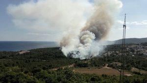 В Албании бушуют 18 природных пожаров