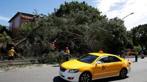 Число пострадавших от тайфуна на Тайване превысило 100 человек