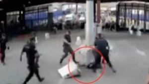 На границе Испании задержан человек с ножом, кричащий Аллах Акбар