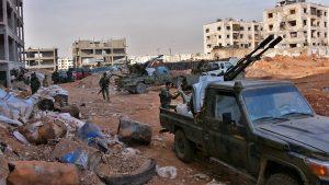Сводка событий в Сирии за 22 июля 2017 года