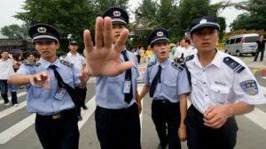 Десятки человек арестованы в Китае за незаконный митинг