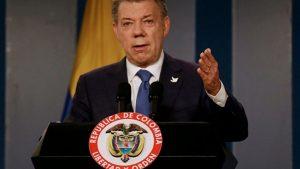 Президент Колумбии призвал Мадуро отказаться от созыва учредительного собрания
