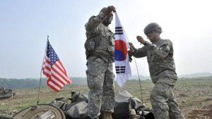 Военные из США и Южной Кореи начинают совместные учения