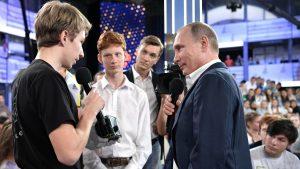 «Недетский разговор» с Путиным посмотрели 6 млн россиян
