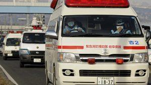 После удара молнии в Японии госпитализированы 9 человек