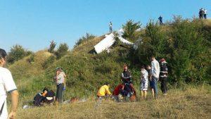 В Румынии разбился самолет