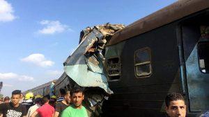 Посольство РФ в Каире: россияне при столкновении поездов не пострадали