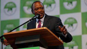 Ухуру Кениата победил на президентских выборах в Кении