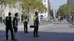 В Барселоне в связи с терактом арестованы два человека