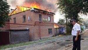 Прокуратура рассмотрит версию поджога в Ростове-на-Дону