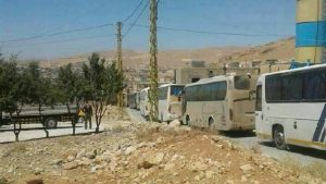На востоке Ливана идёт эвакуация боевиков «Хайят Тахрир аль-Шам»