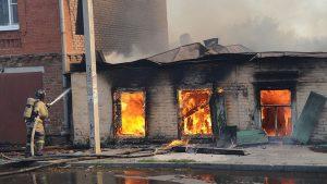 За медпомощью после пожара в Ростове-на-Дону обратились 58 человек