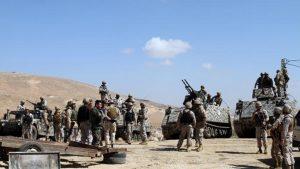 Ливанские войска освобождают границу с Сирией от боевиков ИГИЛ
