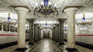 В Петербурге закрыли станцию метро «Автово»