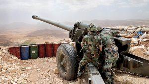 Армия Ливана атаковала лагеря террористов на границе с Сирией