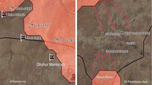 Армия Сирии теснит боевиков ИГИЛ в провинциях Хомс и Хама