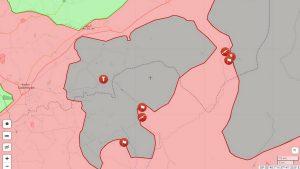 Сирийская Арабская армия замкнула Акербатский котёл