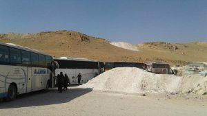 Боевики «Хайят Тахрир аль-Шам» вывезены с территории Ливана
