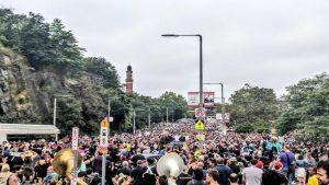 В Бостоне проходит сразу две масштабные акции протеста