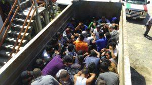 Полиция Мексики спасла группу мигрантов