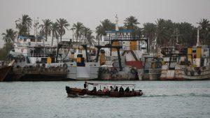 Гражданское судно разбилось у берегов Ирака