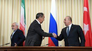 Россия, Турция и Иран намереваются установить режим постоянного перемирия в Сирии