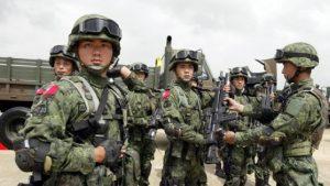 Армия Китая провела учения в Тибете с применением реактивной артиллерии