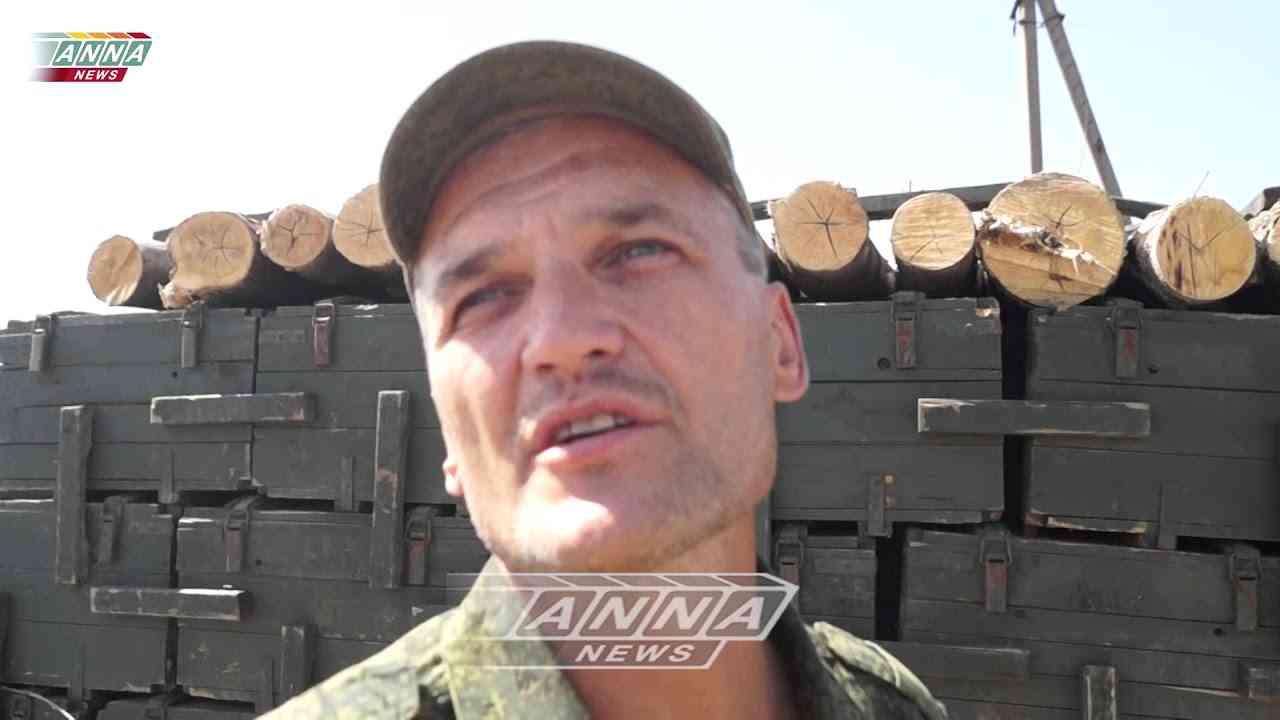 Крайний блок-пост ВС ДНР под Марьинкой. Тимофей.
