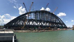 Украина попросит NASA помочь в мониторинге экобезопасности при строительства Крымского моста