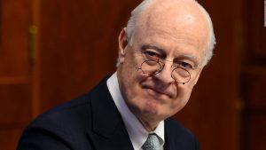 Де Мистура полагает, что октябрь станет решающим месяцем в решении сирийского кризиса